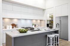 Caesarstone Noble Grey. Fairmont Homes NSW
