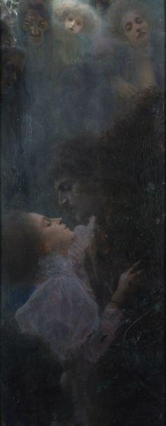 Allegory of Love, by Gustav Klimt