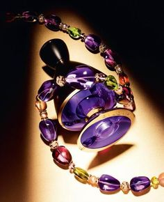 Bvlgari enters the exclusive sphere of Haute Parfumerie with Le Gemme Collection, inspired by high jewelry Bvlgari Fragrance, Cosmetics & Perfume, Italian Jewelry, High Jewelry, Jewellery, Purple Roses, Bulgaria, Bunt, Peridot