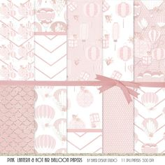This is a collection of pink Chinese Paper Lanterns.  All clip art images are png.  All images are high resolution. This collection is full of tiny details!