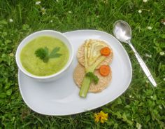 Fenchel-Karotten-Suppe - fennel carrot soup - http://barbaras-spielwiese.blogspot.com