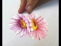 Pintando Flores com Bia Moreira 1 | Cantinho do Video