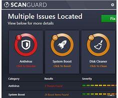 scanguard software review