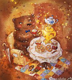 Чудесный художник-иллюстратор Анастасия Столбова