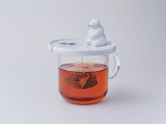 Varietats: Shirokuma; a tea bag holder by Necktie