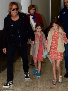 'The choice will always be them': The actress opted out of Broadway because her daughters Sunday, and Faith - her kids with husband Keith Urban - were unhappy she missed family time Celebrity Kids, Celebrity Style, Urban Family Pictures, Nicole Kidman Family, Broadway Plays, Renee Zellweger, Country Music Artists, Naomi Watts, N Girls