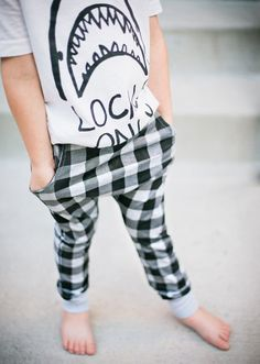 Kid's Checkered Lounge Pants
