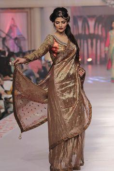 Telenor bridal couture week 2015 Sarah Gandapur Dresses Collection
