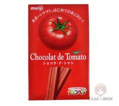 Meijis Chocolate de Tomato Candy Bar