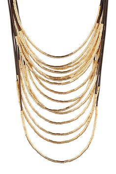 Cord Layer Necklace