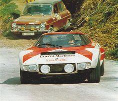 Sandro Munari/Mario Mannucci, 1973 Firestone Rally - Lancia Stratos HF (Winner)