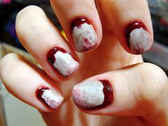 Bloody cuticles Polished Love ♥
