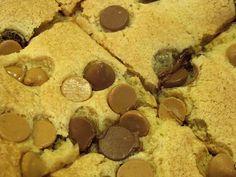 Choco-Peanut Butter Cookie Cake Bars
