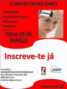 FARO: Curso de Avaliação Funcional para Personal Trainers (25h)   » Início a 24 de Março