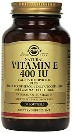 Solgar - Vitamin E, 400 IU, 100 softgels ** Want to know more, click on the image.
