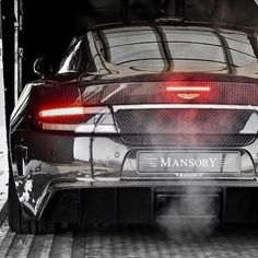 Carbon Fiber Aston Martin DBS Mansory Cyrus