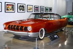 1955 mercury d-528 concept at the Petersen Museum, photo ©laura l. sweet