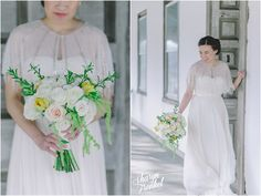 Zi-Xiang + Kyle | The Gables at Chadds Ford | Bouquet | Bride