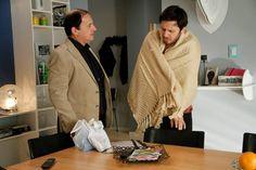 Guillermo va a cuidar a Pedro a su departamento.