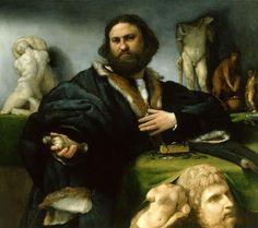 LOTTO, ritratto di Andrea Odoni, 1527, Londra