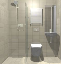 Tiny wet room layout for annexe Wet Room Bathroom, Small Bathroom With Shower, Small Showers, Tiny Bathrooms, Bathroom Design Small, Simple Bathroom, Bathroom Interior Design, Bath Design, Home Interior