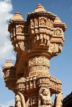 Ancient Jain temple at Oshian by Suvolens, via Flickr