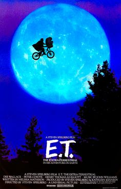 E.T. Yes I'll admit it - I cried! This is the perfect fusion of science fiction and children's adventure movie.