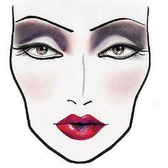 MAC Cruella De Ville - Disney Villain Make-Up Ideas!