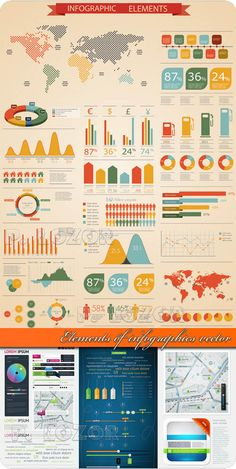40 Free Infographic Vector Kits and Resources