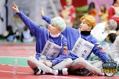 "[Picture] BTS at 2016 ""Idol Star Athletics Championships"" Lunar New Year Special [160206]"