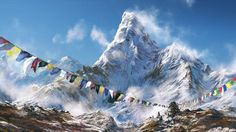 Book Himalaya Tours Packages @ best price at Walk to Himalayas. We help you explore the land of Uttarakhand, Ladakh, Himachal, Sikkim, and Bhutan. Book Now! Beautiful Places In The World, Beautiful Places To Visit, Cool Places To Visit, Tibet, Nepal, Mountain Pictures, Mountain Wallpaper, Landscape Artwork, Mountain Paintings