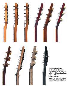 guitar building Kopfplatten im Profil Guitar Kits, Music Guitar, Guitar Chords, Acoustic Guitar, Stratocaster Guitar, Archtop Guitar, Custom Electric Guitars, Custom Guitars, Guitar Neck