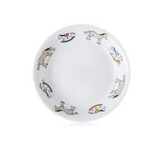 """Hermes Baby Gifts - Plate, 7.5"""""""