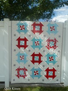 Quilt Kisses: In a Dash: A Finished Quilt