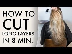 Hey guys, in this haircut tutorial I'm sharing with you one of the shortcuts I use for long layer haircuts. With this long layer haircut technique, I have be. Long Layers With Bangs, Haircuts For Long Hair With Layers, Wavy Haircuts, Short Layered Haircuts, Long Hair With Bangs, Long Wavy Hair, Haircut Layers, Hairstyles, Wavy Curly Hair Cuts