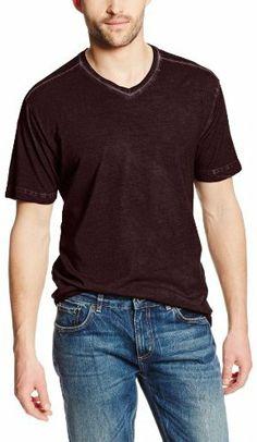 Agave Men's Short Sleeve Antique Wash V-Neck Tee on shopstyle.com