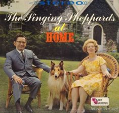 """""""The Singing Sheppards at Home"""", Heart Warming Records."""