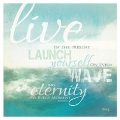 Live Launch Wave Wall Art