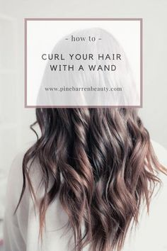 You might have heard the old expression about your hair being the crowning glory of your appearance. Either way, if you are looking for tips on how to style wavy hair, it is because yo… Hair Curling Tips, Hair Curling Tutorial, Curling Hair With Wand, Hair Wand, Curl Hair Tutorials, Hairstyle Tutorials, Loose Curls Hairstyles, Wand Hairstyles, Wavy Hairstyles Tutorial
