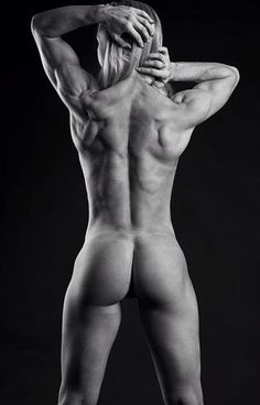 About Crossfit body women nude gradually. consider