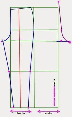 Line Chart, Base, Nova, Women's Pants, Dress Template, Tejidos, Flakes, Flowers