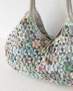 Sophie Digard crochet flower motif BAG purse…