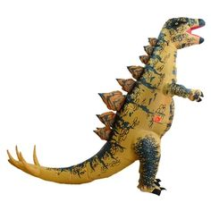 HUAYUARTS Dinosaur Inflatable Costume Stegosaurus Blow up Costume Fancy Dress Christmas Game Cosplay Gift for Men * Details can be found by clicking on the image. (This is an affiliate link) Up Fancy Dress Costume, Fancy Dress Up, Fancy Costumes, Halloween Party Costumes, Halloween Fancy Dress, Halloween Cosplay, Dinosaur Fancy Dress, Dinosaur Costume, Pixel Art