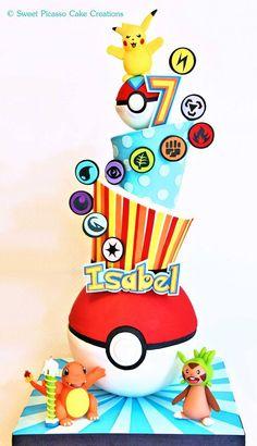Este post va a ser cortito, nunca vi Pokémon ni he jugado el adictivo juego, pero está revolucionando el mundo y estoy segura que muchos cumpleañeros pedirán un pastel de Pokémon GO, o incluso una …