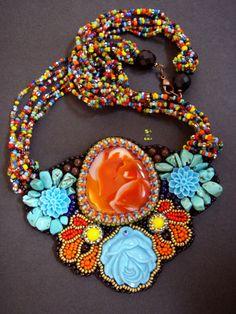 náhrdelník Květiny