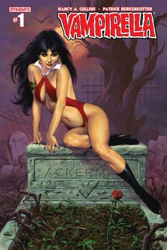 Dynamite Comics and horror novelist Nancy A. Collins relaunch Vampirella...