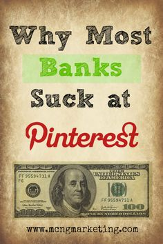 How Financial Institutions can Benefit from Using Pinterest. http://www.serverpoint.com/