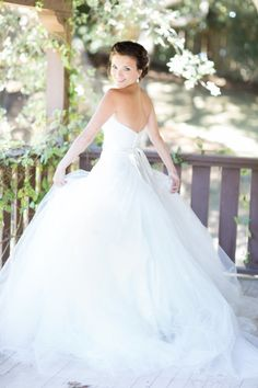 Pretty, pretty dress: http://www.stylemepretty.com/california-weddings/santa-barbara/2015/02/20/romantic-summer-wedding-at-rincon-beach-club/ | Photography: Koman - http://komanphotography.com/