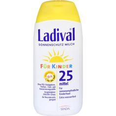 LADIVAL Kinder Sonnenmilch LSF 25:   Packungsinhalt: 200 ml Milch PZN: 03375143 Hersteller: STADA GmbH Preis: 12,89 EUR inkl. 19 % MwSt.…