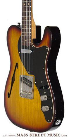 Mass Street Music | Seuf Electric Guitars - OH-20F - 3 Tone Sunburst